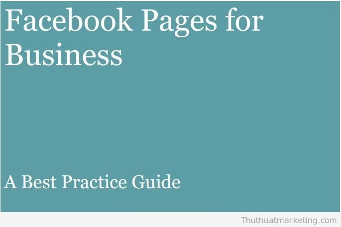 facbook pages for business