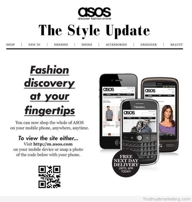 11 QR code thất bại - ASOS