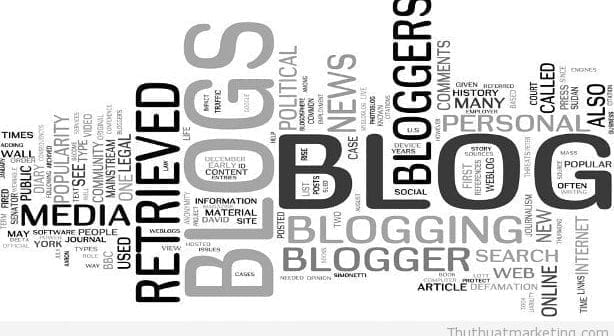 thu thuat marketing - blog