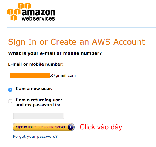 Dang ky Amazon SES