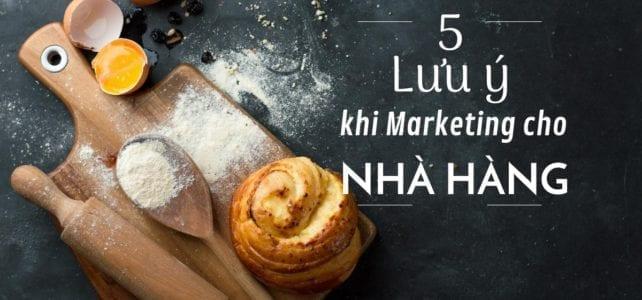 5 luu y marketing cho nha hang - Blog image