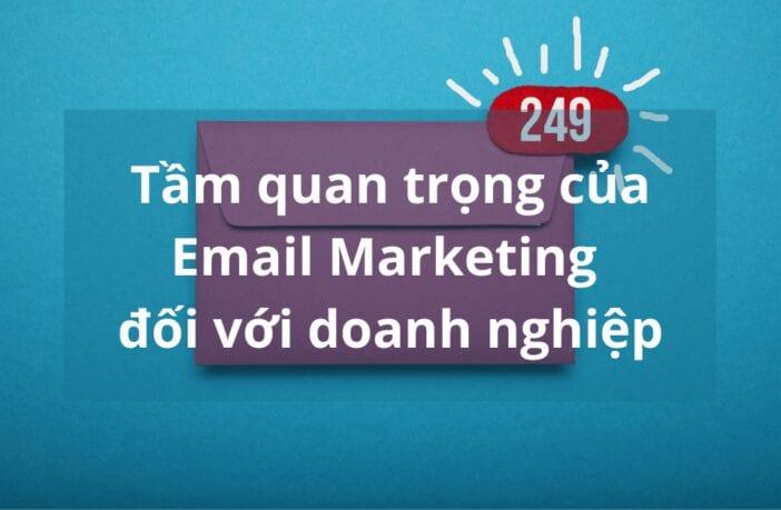 tầm quan trọng của email